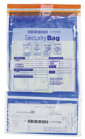 Dual Pocket Security Money Handling Bag 10 x 15
